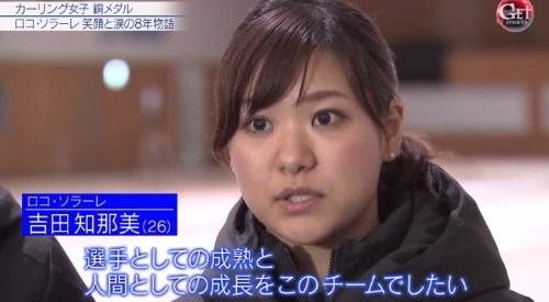 カーリング女子の銅メダル獲得の裏側 「Get Sports」 LS北見 吉田知那美