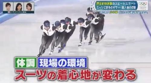 平昌オリンピック スピードスケート 新型スーツの開発秘話 スーツの着心地が変わる