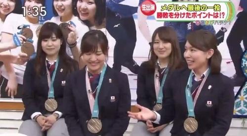 2月27日ひるおび! カーリング女子 本橋麻里解説 チームのやっちまった