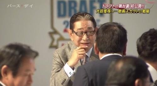 TBS バース・デイ 楽天イーグルス ドラフト 笑みを浮かべる星野仙一