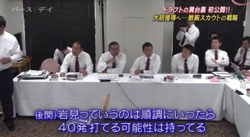TBS バース・デイ 楽天イーグルス 球団スカウト 岩見の可能性