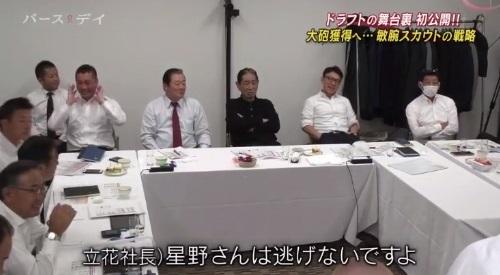 TBS バース・デイ 楽天イーグルス 球団スカウト 星野さんは逃げない
