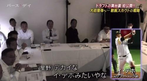 TBS バース・デイ 楽天イーグルス 球団スカウト 球団副会長 星野仙一の岩見評