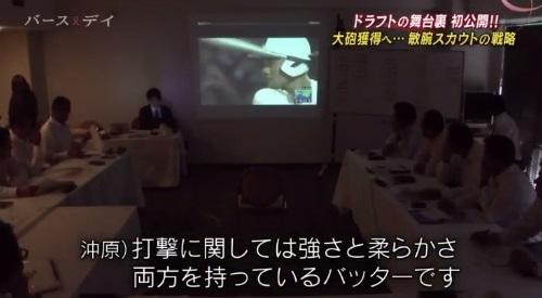 TBS バース・デイ 楽天イーグルス 球団スカウト 球団副会長 清宮評