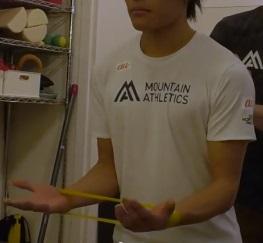 楢﨑智亜のトレーニング方法05