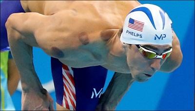 競泳・萩野公介は怪我をした肘のリハビリで何を行っていたのか? カッピング療法 マイケル・フェルプス