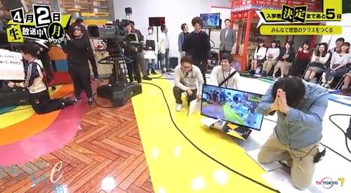 青春高校 3年C組 4月2日 初回放送 スタジオの様子