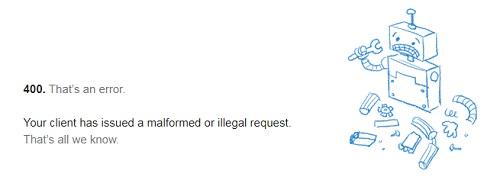 chrome エラー400 YouTubeにアクセス、または検索出来ない