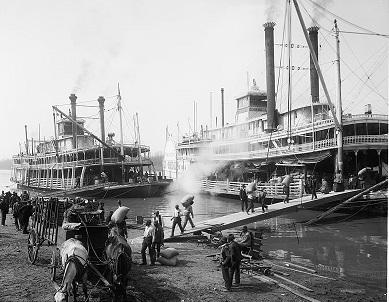 ディズニーランドのアトラクション蒸気船マークトウェイン号の由来について