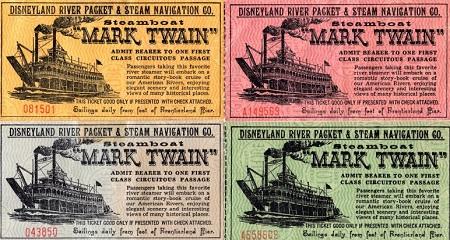ディズニーランドのアトラクション蒸気船マークトウェイン号の由来について01