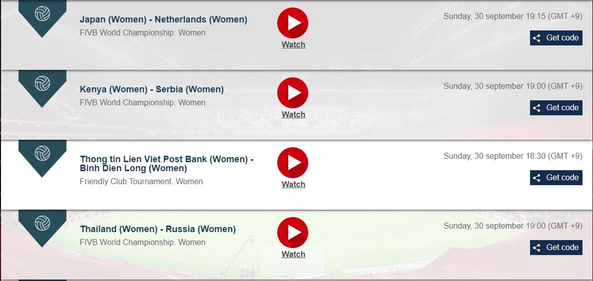 世界バレー女子の全試合をネットのライブストリーミング放送で完全無料で視聴するには