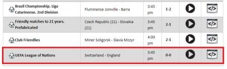 UEFAネーションズリーグ 2018-19全試合をネットの無料ライブストリーミング放送で視聴するには mylive