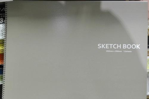 【最新版】A4より大きなサイズの100均スケッチブック特集!セリア 横型スケッチブック