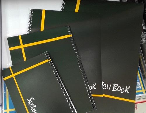 【最新版】A4より大きなサイズの100均スケッチブック特集!セリア Kyowa リングスケッチブック 4種