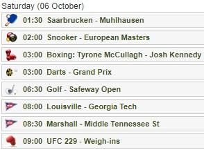UFC 229 コナー・マクレガーVSハビブ・ヌルマゴメドフの試合をネットのライブストリーミング放送で無料で観るには チャンネル