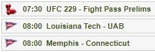 UFC 229 コナー・マクレガーVSハビブ・ヌルマゴメドフの試合をネットのライブストリーミング放送で無料で観るには チャンネル03