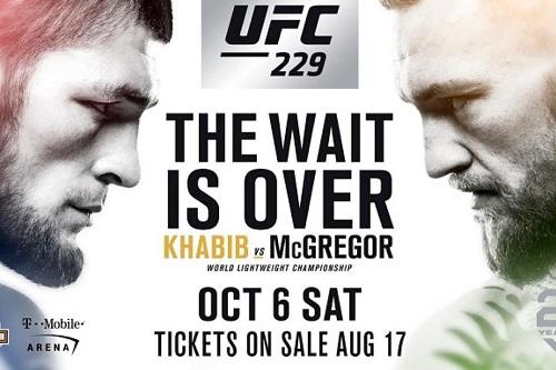 UFC 229 コナー・マクレガーVSハビブ・ヌルマゴメドフの試合をネットのライブストリーミング放送で無料で観るには