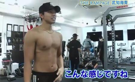 EXILE史上最高の肉体 THE RAMPAGE武知海青のトレーニング方法