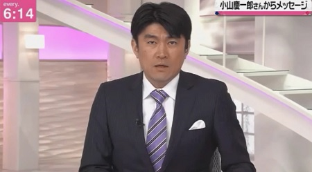 NES小山慶一郎さんが「every.」降板を発表。藤井アナが代読した手紙・小山さん宛のメッセージ全文とは?