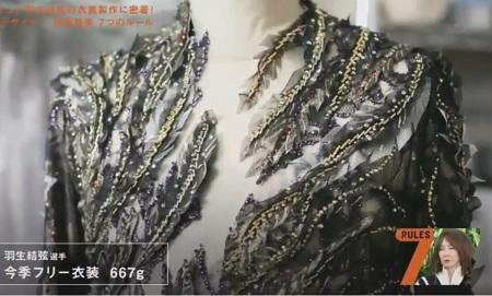 セブンルール フィギュアスケート衣装デザイナー 伊藤聡美 羽生結弦 フリー用衣装の重量