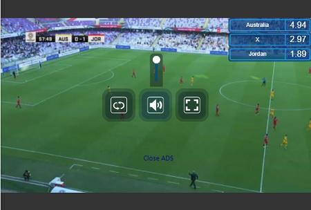 mylivesport 視聴画面 サッカー