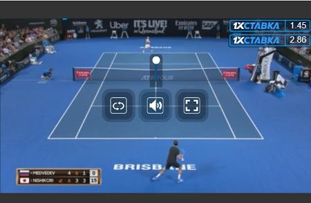 mylivesport 視聴画面 操作方法