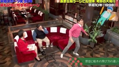 第40回「石橋貴明のたいむとんねる」タカさんが選ぶ平成スポーツ名場面。盛り上がり過ぎて次週に続く