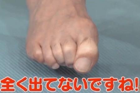 この差って何ですか?体のゆがみSP 隠れ浮き指の自宅チェック法 加藤浩次の足