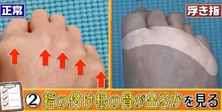 この差って何ですか?体のゆがみSP 隠れ浮き指の自宅チェック法