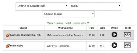スーパーラグビー サンウルブズ全試合をネットのライブストリーミング放送で無料視聴するには mylivesport 試合選択