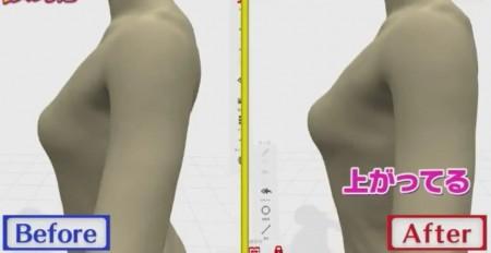 鈴木奈々が関西コレクションの舞台裏で行われる即効バストアップ方法に挑戦育乳マニアおすすめバストアップ法も キンタローのビフォーアフター