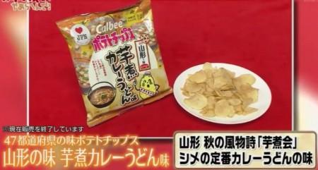 ガキの使いのカルビーポテトチップス食べ尽くし企画!山形 芋煮カレーうどん味