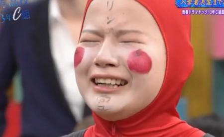 第288回「青春高校3年C組 火曜日」普通の格好に戻したいと号泣するまいっぷること柿﨑麻衣