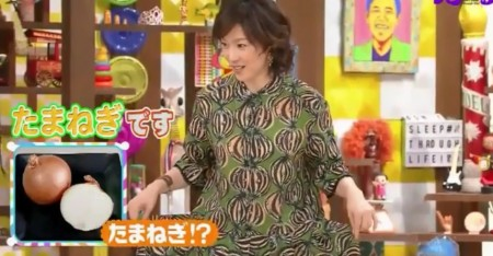 第49回 NHK「チコちゃんに叱られる!」若村麻由美さんの玉ねぎの衣装に食い付くチコちゃん