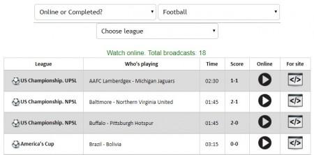 コパアメリカ全試合をネットの無料ライブストリーミング放送で視聴するには ジャンル選択