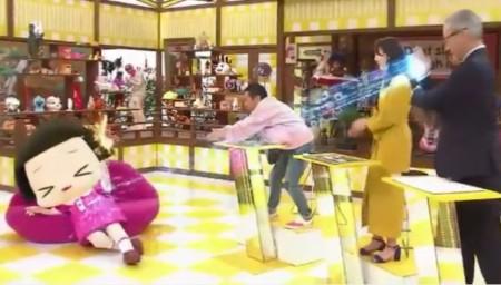 第52回 NHK「チコちゃんに叱られる!」岡村隆史さんのアイスラッガーがチコちゃんの頭に突き刺さる