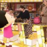 第64回 NHK「チコちゃんに叱られる!」チコちゃんと握手する宮沢りえ。ゴルゴ13じゃないから