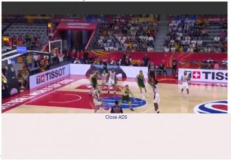 FIBAバスケットボールワールドカップ全試合をネットの無料ライブストリーミング放送で視聴するには 視聴画面