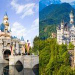 ディズニーのシンデレラ城、眠れる森の美女の城のモデルと言われているドイツ・ノイシュヴァンシュタイン城