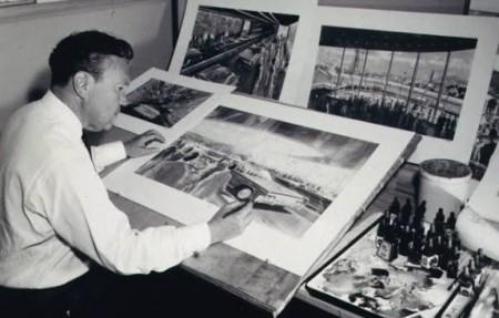 ディズニーのシンデレラ城、眠れる森の美女の城をデザインしたアートディレクターのハーバート・ライマン