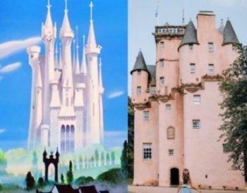 ディズニーのシンデレラ城のモデルと言われているスコットランド・クレイギヴァー城