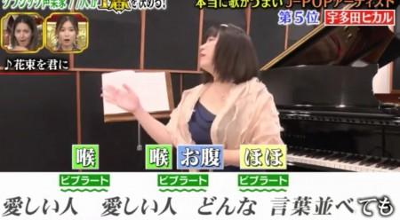 声楽家が本気投票!本当に上手いJ-POP歌手ベスト10 宇多田ヒカルの3種のビブラートの使い分けテクニック