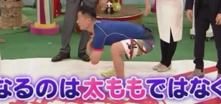 筋肉体操の谷本道哉が指導するお尻に効く超エクカティアスクワット