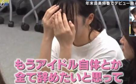 第446回「青春高校3年C組 水曜日」MelodiX出演の裏側密着で兎遊が「アイドルを辞める」発言で涙