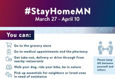 ミネソタ州の外出自粛要請について。やってもOKリスト