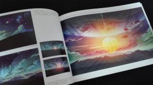 新海誠美術作品集 空の記憶~The sky of the longing for memories~ 「秒速5センチメートル」陽光に照らされた衛星の環