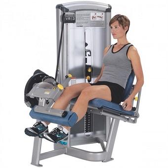 膝関節に多大な負担がかかるレッグエクステンション