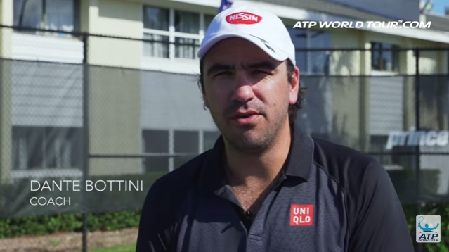 テニス選手のオフトレーニング 錦織圭選手の場合 錦織圭のフルタイムコーチ ダンテ・ボッティーニ