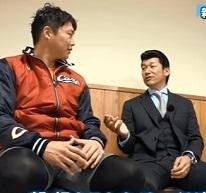 広島 新井貴浩選手と三浦大輔氏の対談。40代のコンディショニングについて