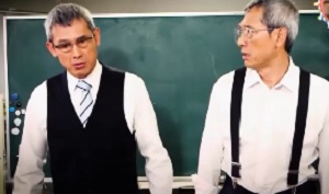 第6回 NHK「チコちゃんに叱られる!」 鶴見辰吾さんの一人四役